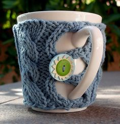 Ravelry: Button Up your Cup pattern by Julie Tarsha
