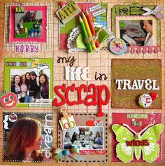 A Project by RoPhilippsen from our Scrapbooking Gallery originally submitted 07/08/10 at 06:20 AM