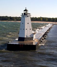 Lighthouse, Ludington, Michigan - OK so I go there a lot and love it!