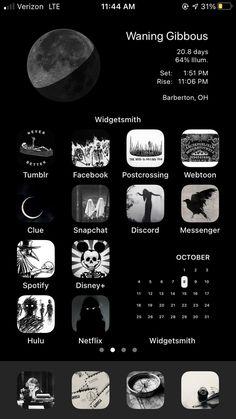 Iphone Home Screen Layout, Iphone App Layout, Iphone App Design, Iphone Wallpaper App, Phone Themes, Ios App Icon, App Icon Design, App Covers, Iphone Icon