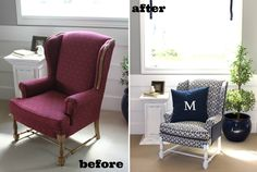 Musical Before and After Chair