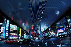 https://flic.kr/p/9oxSYJ | Roppongi Crossing, Minato-ku, Tokyo | Under the Tokyo Metropolitan Expressway #3 Shibuya-Line.