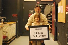 Fagin and Oliver, from our 2012 production of #Oliver, own a theatre! On 11/10, come and support BTG's education programs at the #IOwnATheatre #Gala! www.berkshiretheatregroup.org