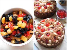 Игра со вкусом - Фруктовый рождественский кекс и простое печенье с новогодним декором