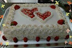 Bolos decorados com chantilly - Cupcake Decoration Ideen Fondant Cupcakes, Cake Icing, Fun Cupcakes, Buttercream Cake, Eat Cake, Cupcake Cakes, Food Cakes, Valentines Day Desserts, Valentine Cake