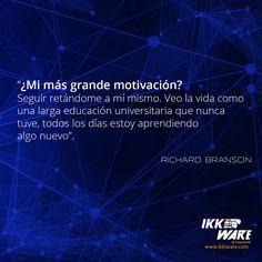 Richard Brandson #ikkiware #frases #motivacion #miercoles