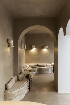 Paris : Chapelle XIV, néo-galerie | MilK decoration Restaurant Design, Restaurant Bar, Tall Floor Lamps, Innovative Systems, Chapelle, Color Tile, Home Studio, Luxury Apartments, Beautiful Space