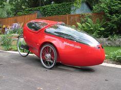 how to make a recumbent bike cool… | Sporkdork