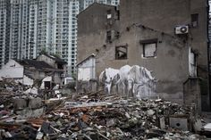 Faith47 New Mural @ Shanghai, China