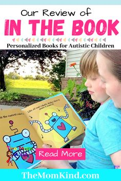 "Looking for personalized books for autistic children? Find out about ""In The Book"" and their work to help children with autism love reading! #autismparenting #childrensbooks #bookreview Autism Parenting, Good Parenting, Parenting Hacks, Books For Autistic Children, Children With Autism, Autism Spectrum Disorder, Personalized Books, Special Needs Kids, Mental Health Awareness"