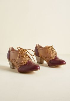 1930s Style Shoes – Oxford Shoes