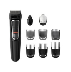 Philips Norelco All-in-One Turbo-Powered Multigroom Beard Nose Ear Trimmer & Shaver With 13 Attachments - Health and Personal Care Product Search Ear Hair, Hair Comb, Power Adapter, Hair Clippers & Trimmers, Walmart, Beard Trimming, Metal Trim, Philips, Grooming Kit