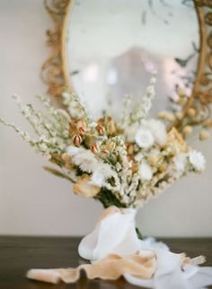 Centerpiece of Dried Flowers for a Warm Gold Neutral Palette Elegant Wedding, Wedding Day, Ceremony Backdrop, Pampas Grass, Vineyard Wedding, Dried Flowers, Wedding Bouquets, Backdrops, Centerpieces