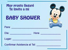Invitaciónes para baby shower de niña para editar - Imagui