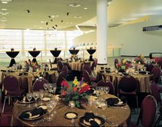 Elements Cafe Science Museum- (capacity: Seated Dinner: 300, Stand-up Reception: 400)Hi Kate,  There is the option paying for event guest parking and the cost will be around $8.00 - $10.00 per car.