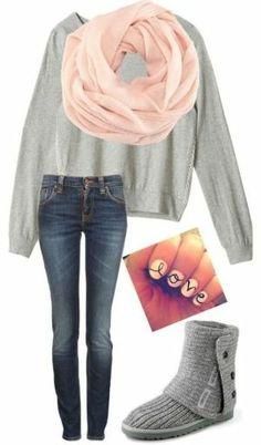 58 Best Cute Ways to wear my Uggs