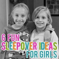 6 Fun Sleepover Activities for Girls » Daily Mom