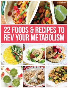 These foods will give your metabolism a BOOST.