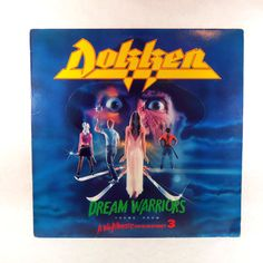 Dokken Dream Warriors Theme From A Nightmare On by LeftHandPath, $16.66