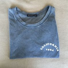 Brandy Melville 'California' tshirt Brandy Melville new 'California' super soft tshirt. This shirt is sold out in most stores. Brandy Melville Tops Tees - Short Sleeve
