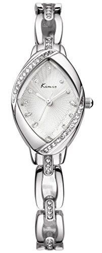 Great gift idea Women's Luxury Rhinestone Watchcase Silver Steel Watch Kw6010s