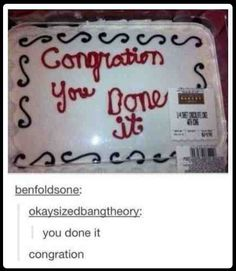Congration.