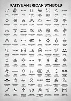 Native American Signs by Zapista Zapista . - Native American Signs by Zapista Zapista indians, symbols, in - Native American Tattoos, Native American Symbols, Native American Indians, Cherokee Indian Tattoos, Cherokee Symbols, Native American Design, Native Tattoos, Native American Artwork, Native American Bedroom