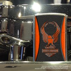 """The Harley-Davidson® classic Eagle sits atop the Bar & Shield logo, with """"Ride Forever"""" Zippo Harley Davidson, Harley Davidson Motor, Cool Zippos, Chevy Trucks For Sale, Environmentally Friendly Gifts, Shield Design, Lighter Fluid, Shield Logo, Zippo Lighter"""