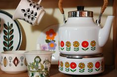 Dresser in our kitchen (detail) by H is for Home, via Flickr