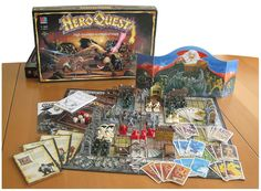 Heroquest! Games Workshop (GW) and Milton Bradley (MB) teamed up in 1990 to make this classic dungeon crawl!