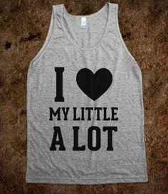 #Skreened                 #love                     #Love #Little             I Love My Little A Lot                              http://www.seapai.com/product.aspx?PID=816588