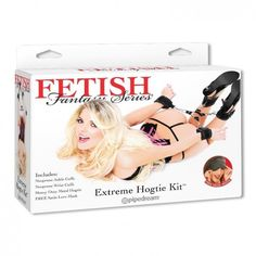 Фиксаторы для секс-бондажа FF Extreme Hog-Tie Kit