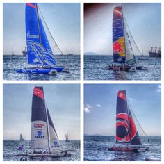 Day 2 at the #extremesailingseries in Istanbul
