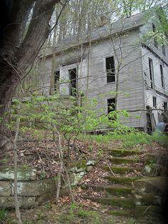 old house. definitely haunted.