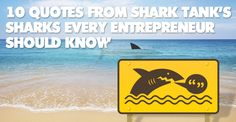 10 Quotes from Shark Tank's Sharks Every Entrepreneur Should Know