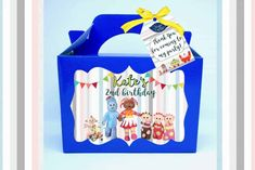 Personalised In The Night Garden Party Boxes are great quality, vibrant colours, your guests will definitely be amused! Can come in multiple colours. Favor Bags, Gift Bags, Vibrant Colors, Colours, Garden Boxes, Garden Ideas, Night Garden, Personalised Box, Party In A Box