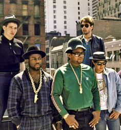 Beastie Boys and Run DMC - 1980