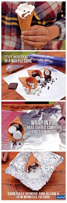 Campfire S'mores Recipes with a Twist - Reynolds Kitchens