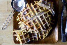 eggnog waffles | smittenkitchen.com
