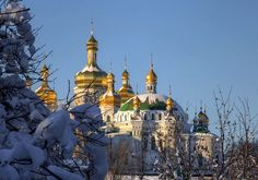 kiev in winter by mariusz kluzniak, via Flickr