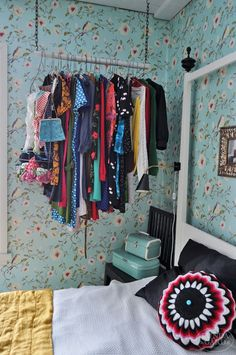 fun idea for a closet in small spaces