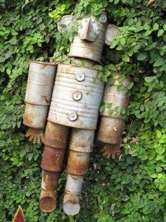 DIY Garden Decoration Projects - Make your Own Garden Art - The Gardening Cook