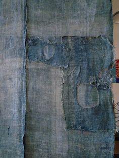 Kaya boro mosquito netting–woven from rustic hemp or ramie yarns