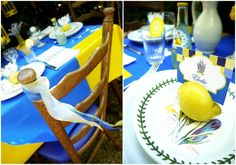 Summer in Provence Tablescape Ideas for Lunch or Brunch