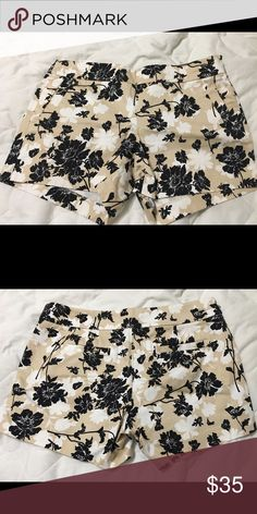 JCrew Shorts Women's size 12 Cute floral print Jcrew brand shorts. These are brand New without tags, never been worn. They are a Women's size 12. J. Crew Shorts