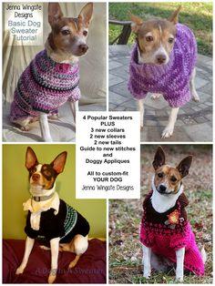 Smoking Jersey Crochet para Perros Tutorial