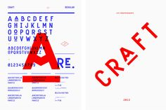 Typographies - Craft - Les Graphiquants