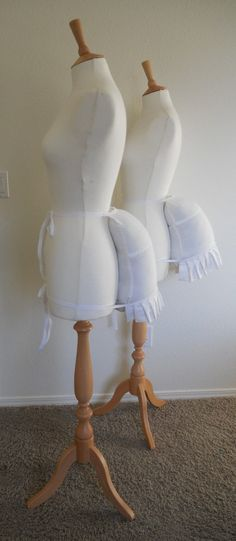 Medium Victorian Bustle Pad Available In White by SallyCDesigns