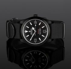 """James Bond Style – Project X's New British Military """"Stealth"""" Rolex."""