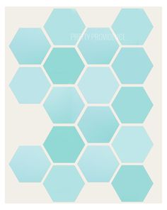 Geometric Free Printable! So fun for decor in any room!